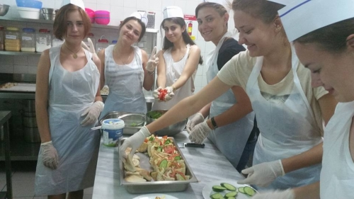 Presentation of the Cypriot Cuisine to Russian Students
