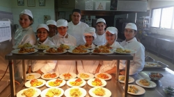 Technical School of Paralimni - The 2nd Year Culinary Students