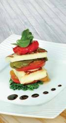 October - Grilled Haloumi with Marinated