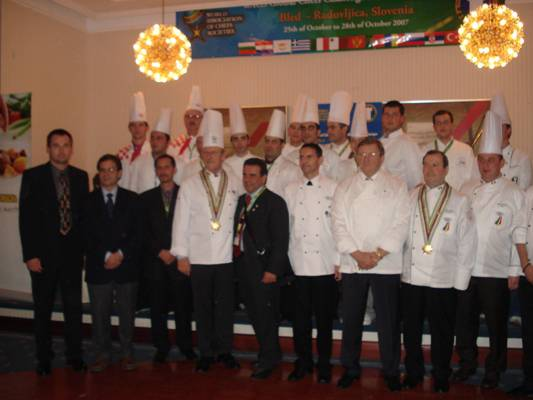 European competition for the global chef