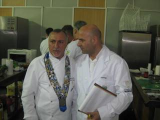 Antonis, judge at the 2nd gastronomic forum in Athens