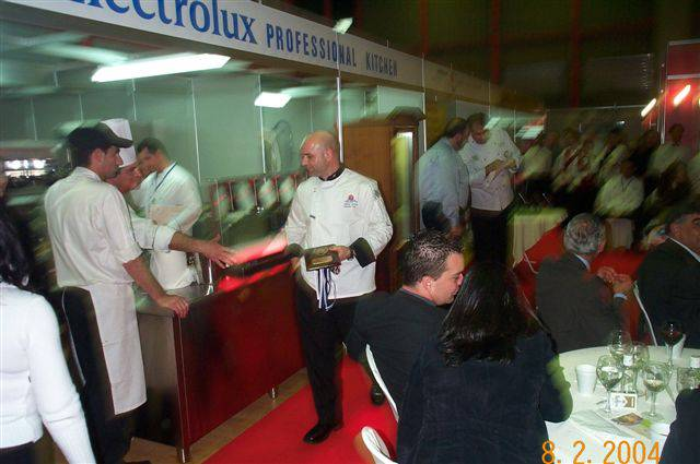 Restaurant competition 2004