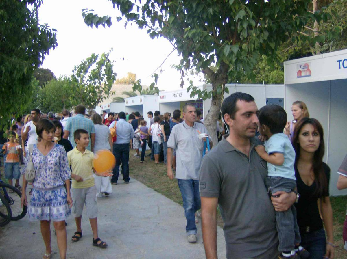 Ice cream Fair in Cyprus