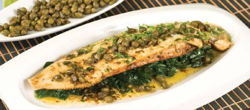 Sole Fillets with Capers and Lemon