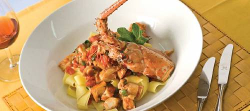 'Pappardelle' with Lobster