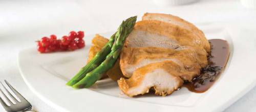 Turkey Breast with 'Kolokasi'