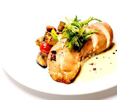 Chicken Fillet Stuffed with Kefalotyri Cheese