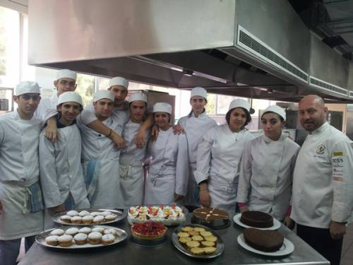 Student's 1st Practical Training in Pastry