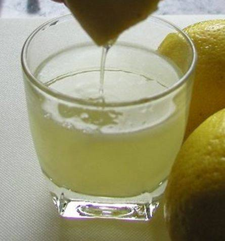 Tenderizing with lemon juice