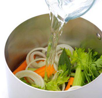 Nutrient Rich Liquid from Vegetables